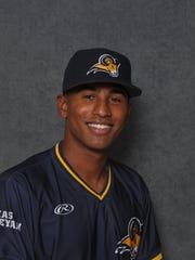 Texas Wesleyan baseball player Donnie Lopez