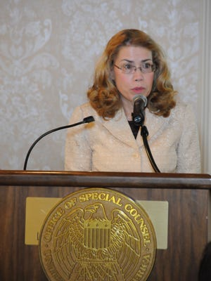 Dr. Katherine Mitchell has received the VA's Public Servant of the Year award in a Washington, D.C. ceremony on Dec. 3, 2014.