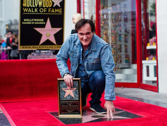 Tarantino's Walk of Fame star