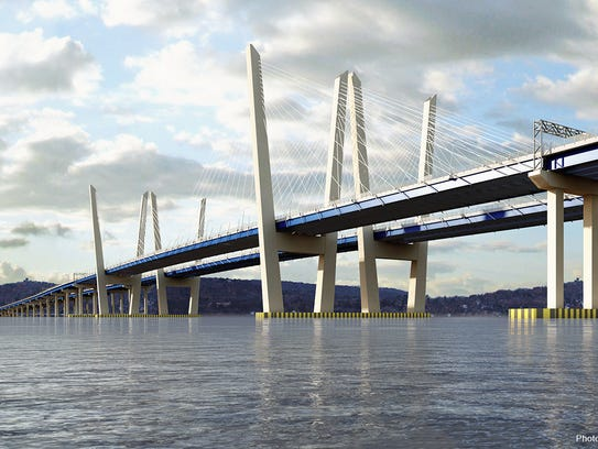 The design for the new Tappan Zee Bridge features a