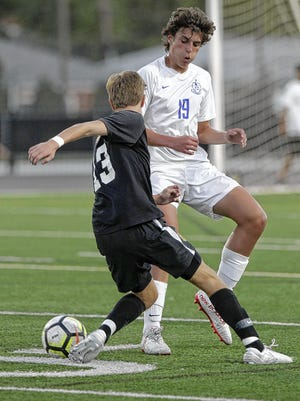 Junior midfielder Sam Holden is expected to be among the top performers for Davidson and seventh-year coach Dan Hoover.