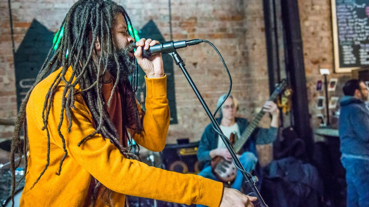 """Birdmen of Alcatraz perform """"Conventional Wisdom"""" as part of the Feb. 1, 2018, episode of """"Dogfish Head Brewery presents IndyStar Sessions at Square Cat Vinyl."""""""
