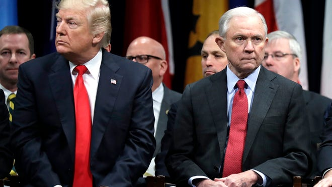 The steady diatribes, most recently a tweet excoriating Sessions for the federal indictments of two Republican congressmen, reflect Trump's single-minded outrage over the special counsel's Russia investigation.