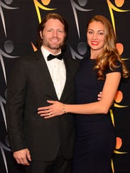Darin Southam, left, and his wife Michelle