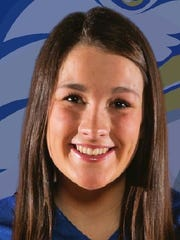 Jackson Christian catcher Sophie Dunavant