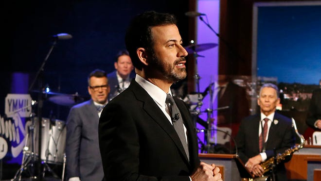 """I agree, this is a mental illness issue,"" Kimmel said, ""because if you don't think we need to do something about it, you're obviously mentally ill."""