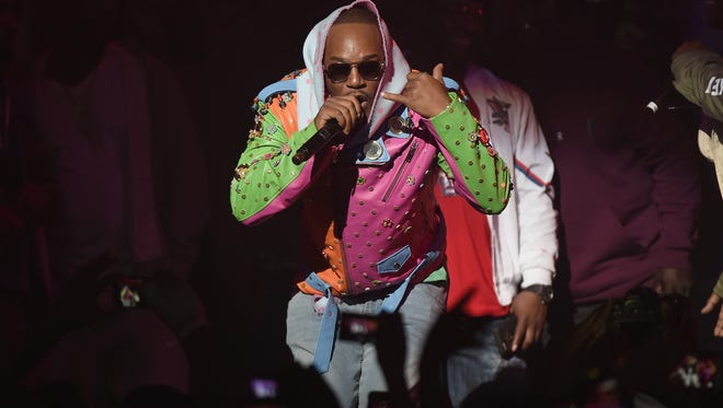 Cam'ron performs at Spotify's RapCaviar Live in New York on Nov. 21 in New York City.