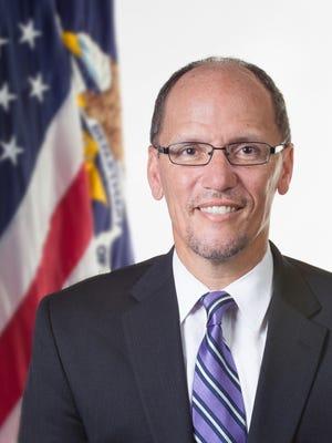 U.S. Labor Secretary Tom Perez
