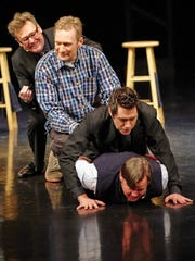 """Greg Proops, Ryan Stiles, Jeff B. Davis and Joel Murray make up the cast of the improv comedy show """"Whose Line Is It Anyway?"""""""