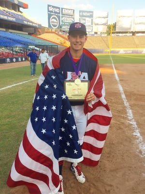 Waukesha West junior Jarred Kelenic won a gold medal and a Team MVP award in Monterrey, Mexico. He has even loftier goals in mind looking forward.