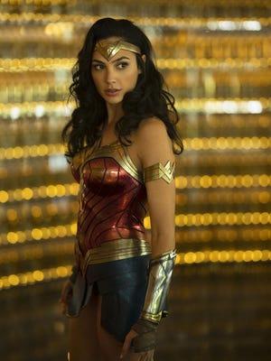 "Gal Gadot returns as the Amazing Amazon in ""Wonder Woman 1984."""