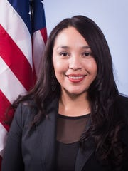 Watsonville City Councilwoman Karina Cervantez, wife of state Assemblyman Luis Alejo, (D-Watsonville) announced her candidacy Tuesday to replace her spouse in Sacramento representing the Central Coast's 30th state Assembly District.