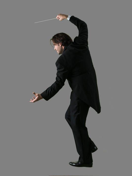 Darko standing w baton art