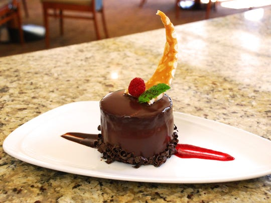 POM Restaurant in Indio offers a new chocolate mousse cake.