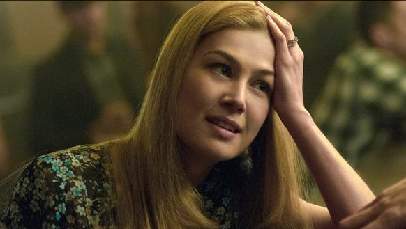 """Rosamund Pike as Amy Dunne in """"Gone Girl."""""""