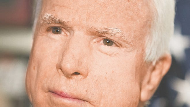 "Sen. John McCain, expected to seek a sixth term in 2016, has taken positions opposed by many ""tea party"" conservatives."