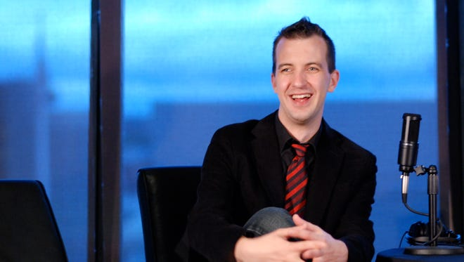 Brian M. Westbrook, tech reporter for Seattle's King-5 TV