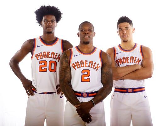 Phoenix Suns Media Day 2017