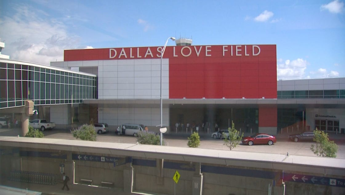 Dallas council approves plan for love field parking