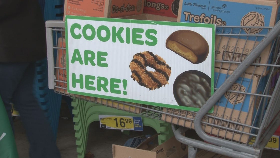 macon restaurants  pete in girl scout cookie contest