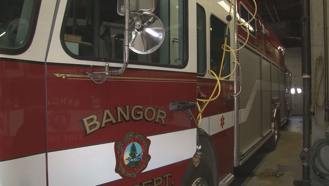 Two Used Bangor Fire Engines On Sale