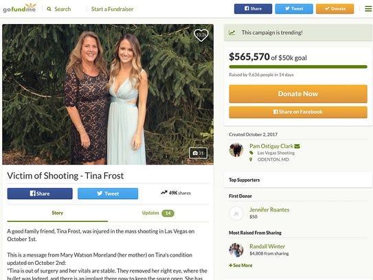 This is a frame grab of Las Vegas mass shooting victim