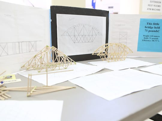 Bridge-building was among the activities at the Sherburne