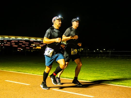 7 marathons, 7 continents, 7 days: Knoxville resident Brian Winter completed that feat this year becoming one of only several hundred runners to ever finish the World Marathon Challenge. Here is running in Perth, Australia, with friend Andrew Brooks.