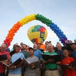 Cathedral City kicked off its LGBT Days festival at the city's Civic Center on Friday.