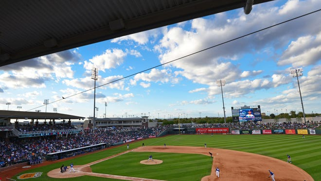 Upgrades to Surprise Stadium, spring home of the Rangers and Royals, earned the highest overall score of the 10 Cactus League venues.