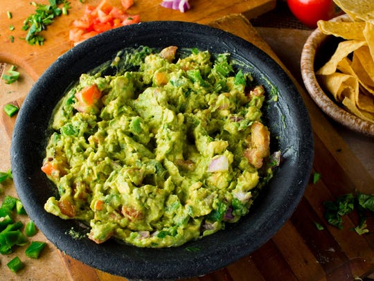 Top Shelf Guacamole at Cantina Laredo.