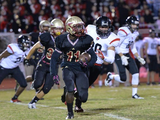 Marqwell Odom (11) could see time at quarterback for Riverdale this season.
