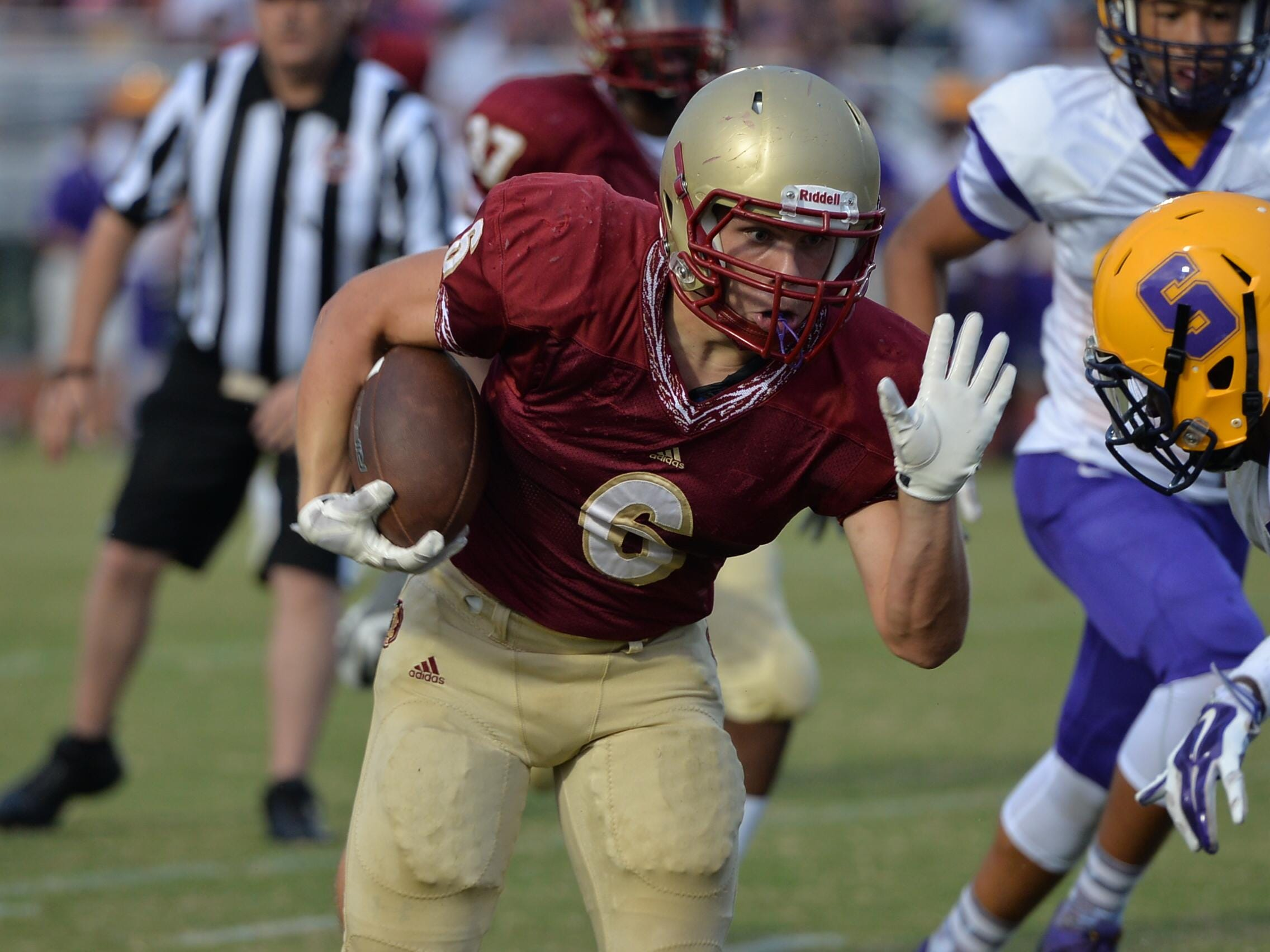 Riverdale's Austin Bryant is the Warriors' leading returning rusher from the 2014 season.