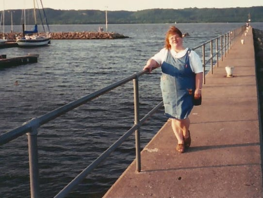 Tammy Habiger underwent a drastic lifestyle change