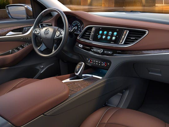 Cars With A Third Row >> First look: 2018 Buick Enclave Avenir