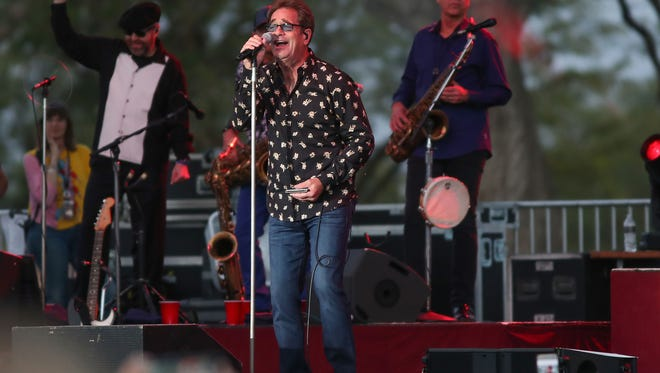 Huey Lewis and the News won't be hitting the Greenville Catfish Extravaganza this year after all.