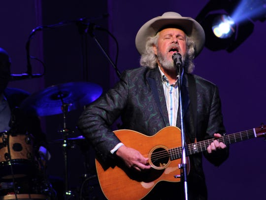Robert Earl Keen sings during his 2018 Summer Dinner Theatre show to benefit the West Texas Rehabilitation Center.
