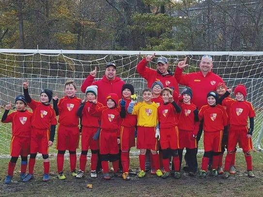 The U-10 West Paterson Soccer Association Generals