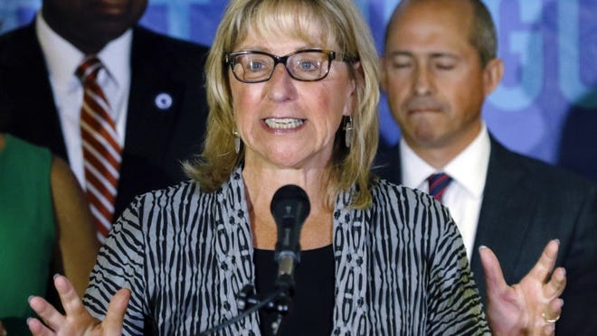 """State Senate President Karen Spilka, D-Ashland, said a recently-passed bill """"lays out a comprehensive strategy to combat mosquitoes spreading EEE."""""""