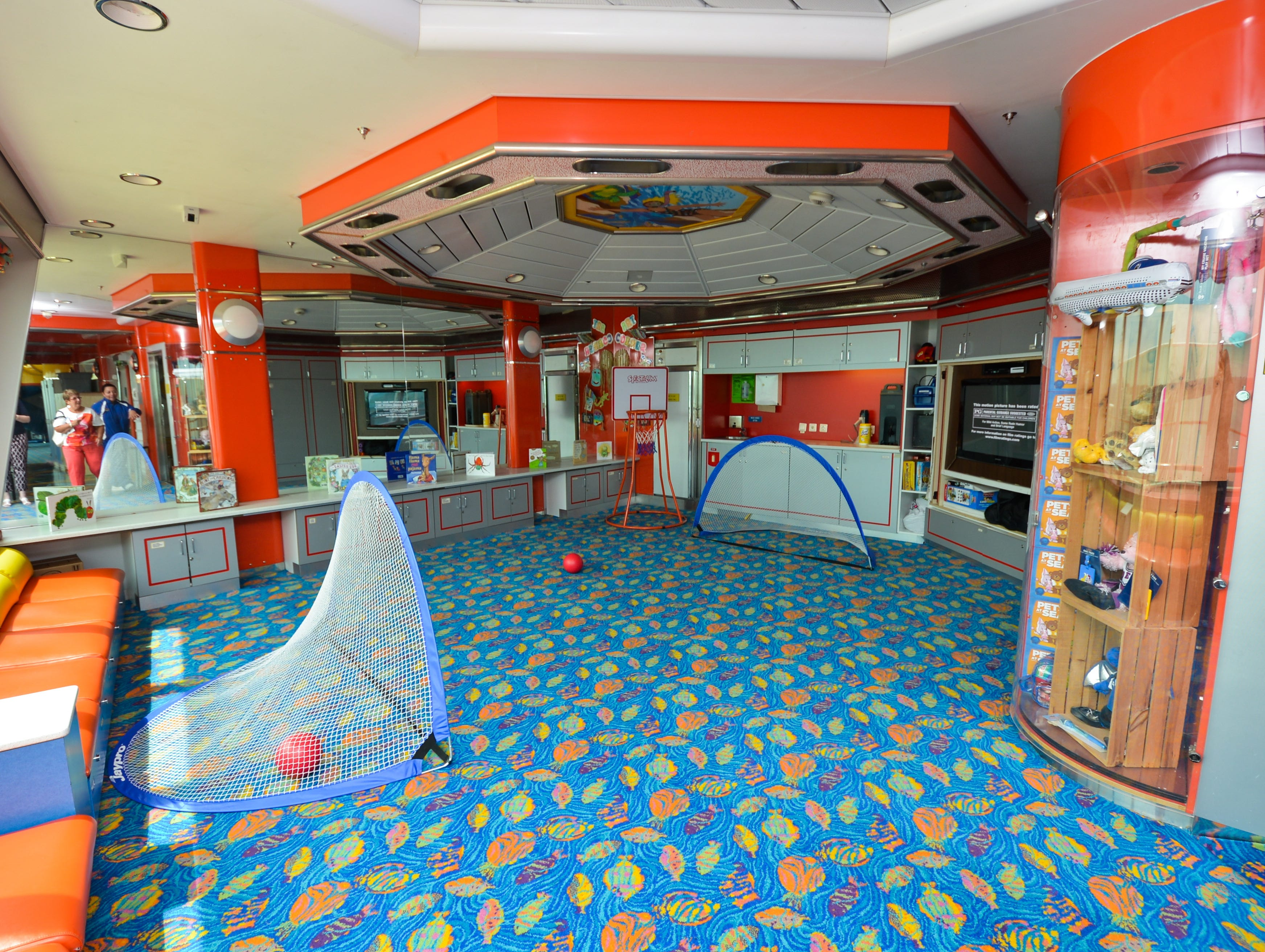 Located on Deck 10, the Adventure Ocean children's center offers activities for kids ages three to 17.