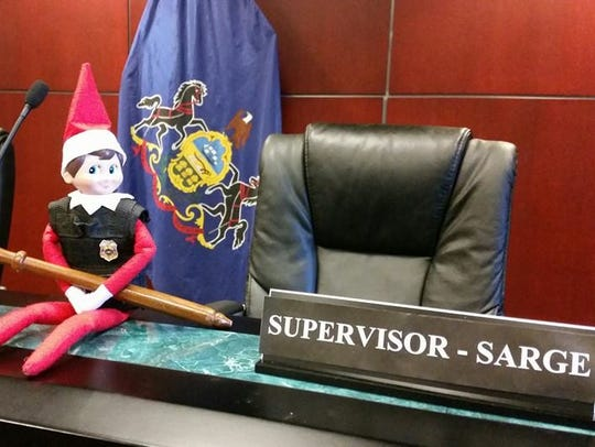 Sarge, West Manheim Township Police Department's Elf