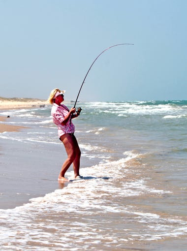 Miles of beaches along Mustang and Padre islands provide access to surf-fishing opportunities near Corpus Christi.