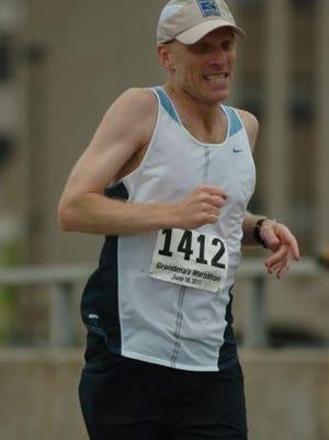 Lance Bergeson, at the 2011 Grandma's Marathon.