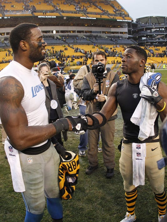 Calvin Johnson Antonio Brown