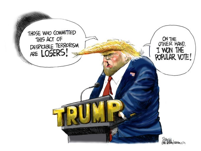 Cartoon for May 25, 2017.