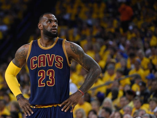 LeBron James opts out of contract with Cavaliers, will ...