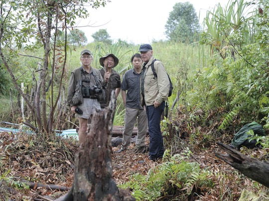 """A """"timeless hero of the silver screen,"""" it is in fact Harrison Ford's heroic devotion to the planet that has earned him the 2018 Jane Alexander Global Wildlife Ambassador Award, created by the Indianapolis Prize. Here Ford is working in the field in Indonesia as part of a documentary film series."""
