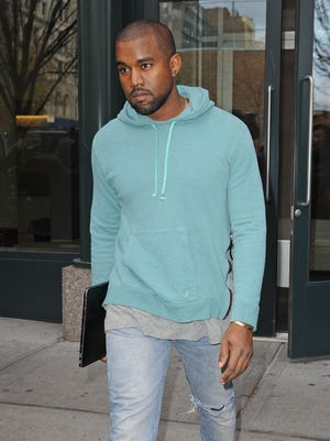 Kanye West is seen on Nov. 21 in New York.