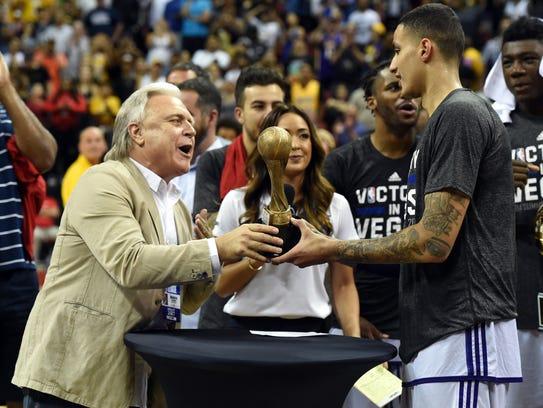 NBA Summer League executive director Warren LeGarie,