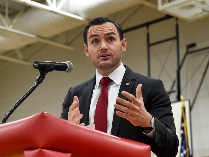 Wisconsin 8th District Congressman Mike Gallagher delivered